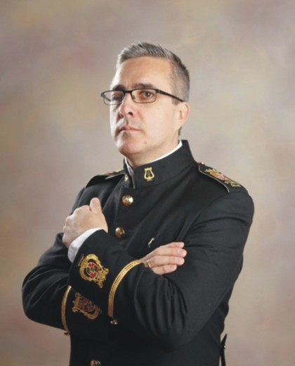 Gabriel Vadillo González, director banda Pedro Álvarez Hidalgo