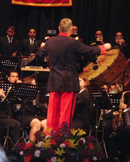 Abel Moreno Gómez, banda de música Pedro Álvarez Hidalgo