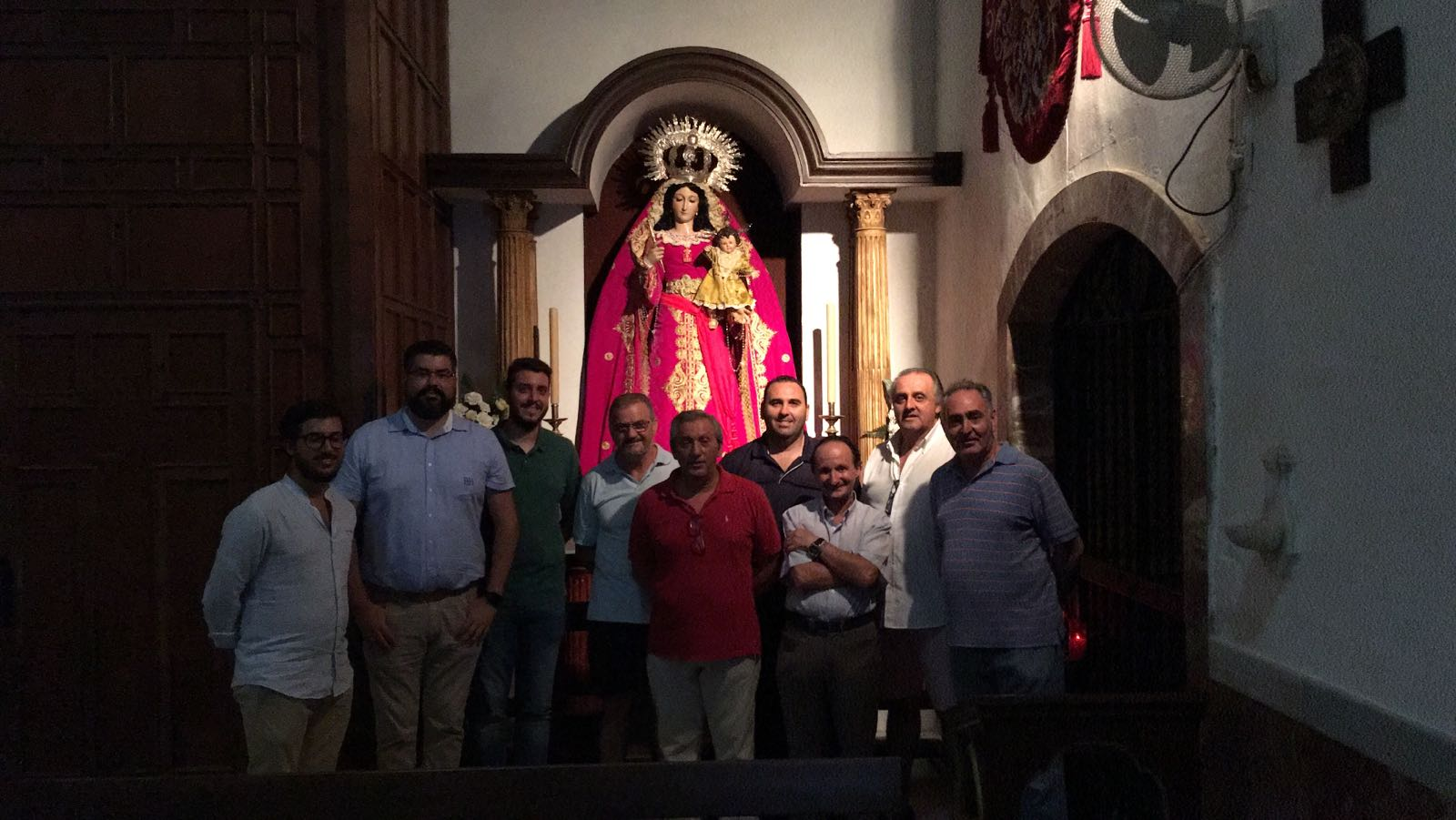 Acuerdo con la Hermandad de Madre de Dios del Rosario, Patrona de Capataces y Costaleros