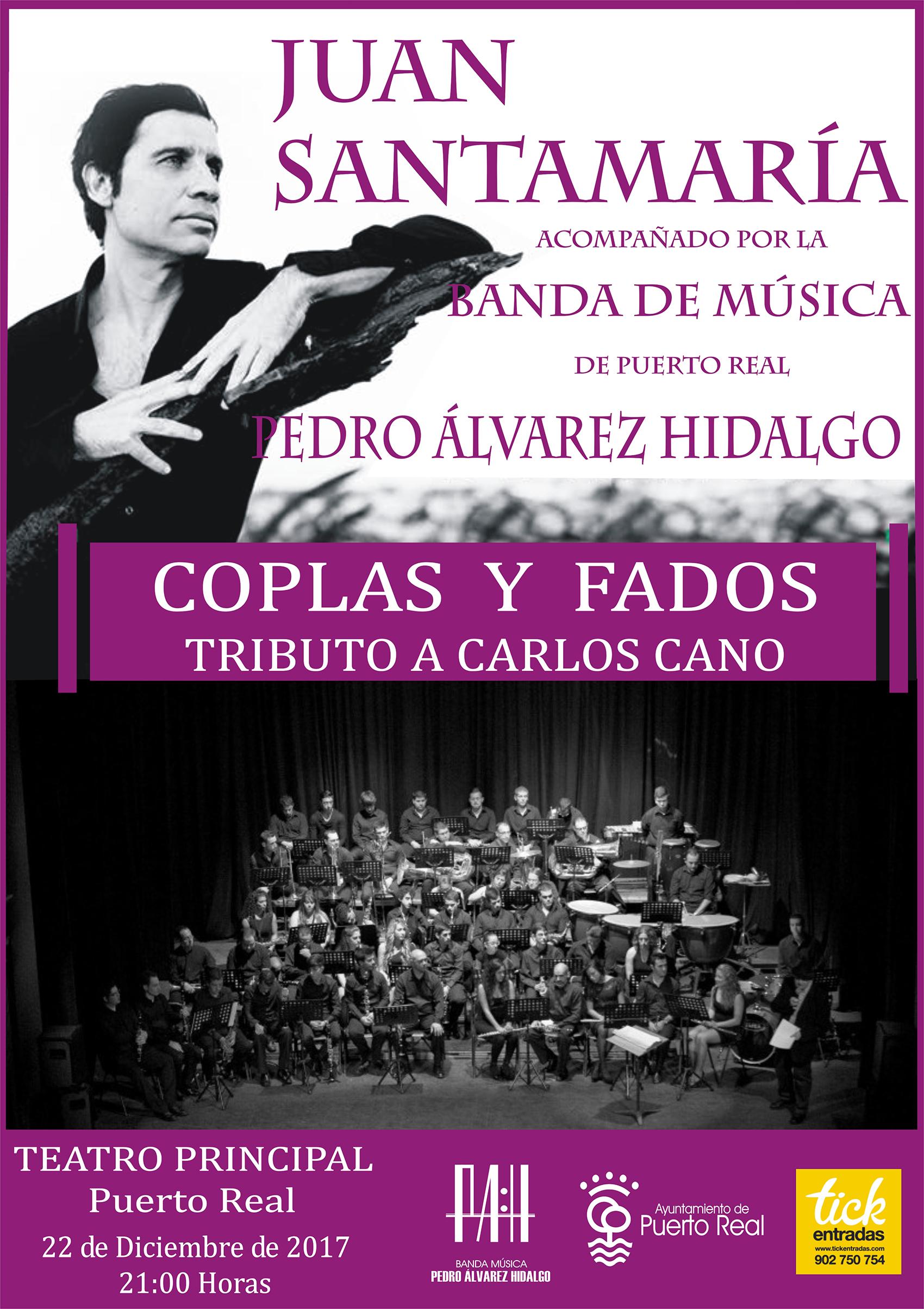 Concierto Coplas y Fados. Tributo a Carlos Cano
